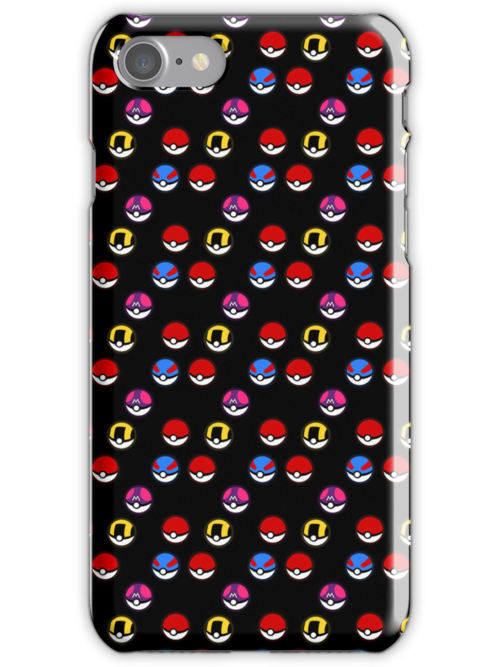 Pokeball Parade in Black by tanzelt