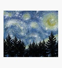Star Night Photographic Print