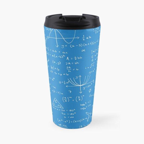 Algebra Math Sheet 2 Travel Mug