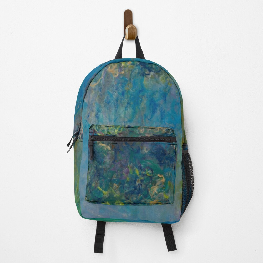 Wisteria by Claude Monet 1925 Backpack