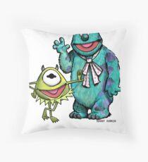 Muppets Inc. Throw Pillow