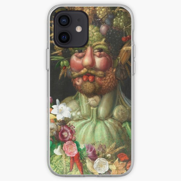 Rudolf II as Vertumnus by Giuseppe Arcimboldo, 1591 iPhone Soft Case