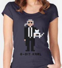 8-Bit Karl Women's Fitted Scoop T-Shirt