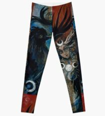 Lunar Raven Cycle Leggings
