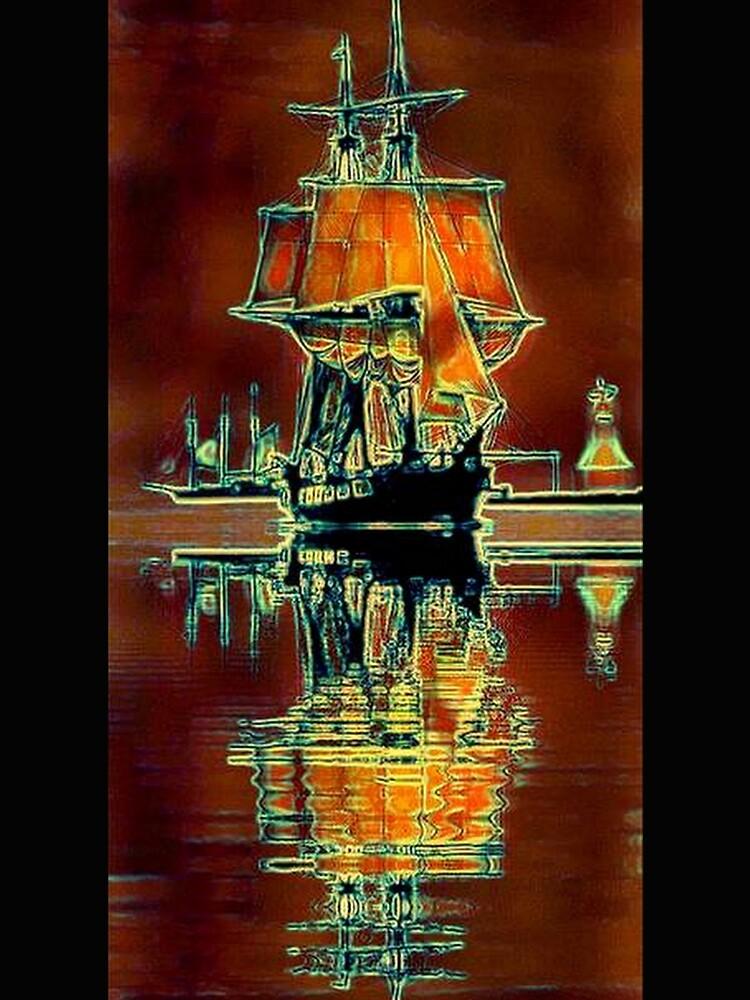 TALL SAILING SHIP by michaeltodd