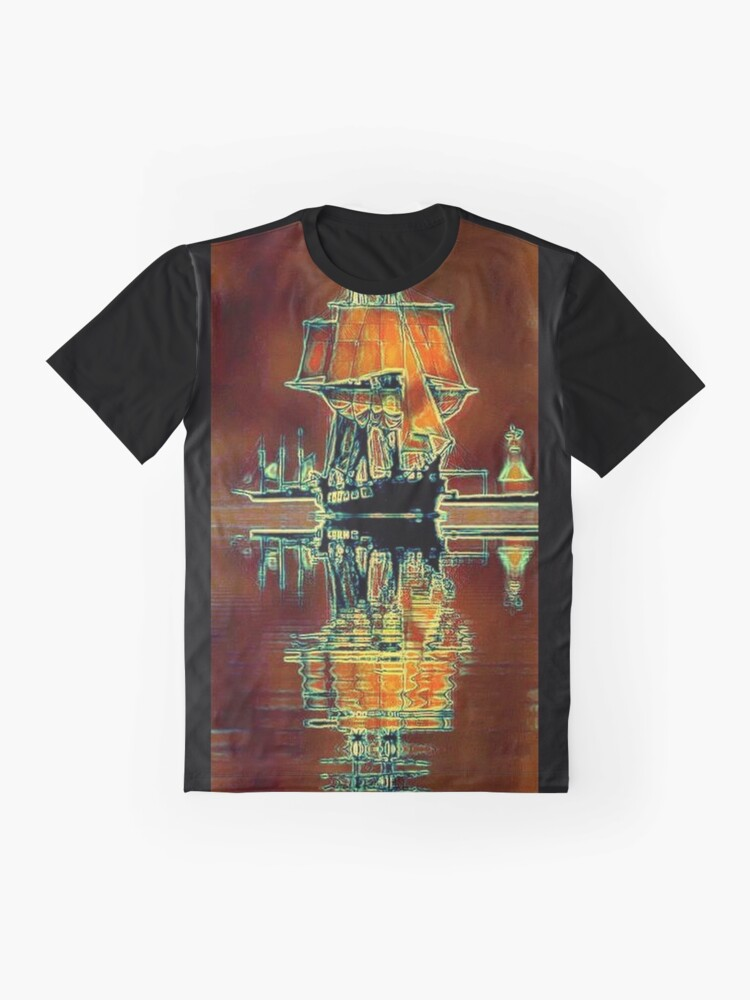 Alternate view of TALL SAILING SHIP Graphic T-Shirt