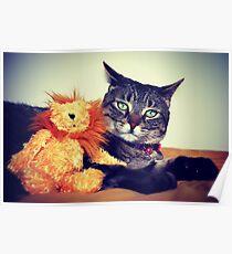 Tasha & Her Lion Poster