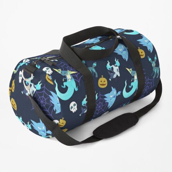 Spooky halloween pkmn pattern Duffle Bag
