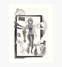 Cyborg in Theatre Art Print