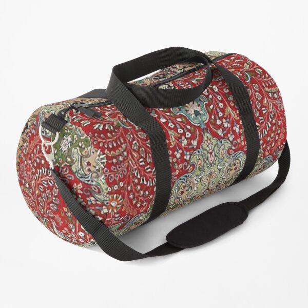 Vintage Antique Persian Carpet Print Duffle Bag