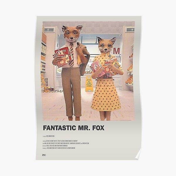 Fantastic Mr Fox Posters Redbubble