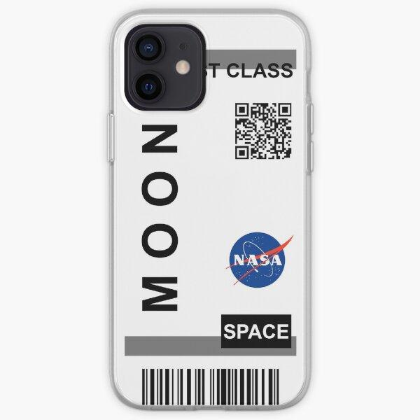 Billet d'avion Lune NASA Coque souple iPhone