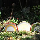 Garden tableau by Mike Shell