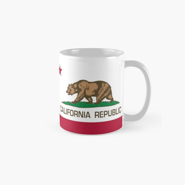 California Republic state flag of California Classic Mug