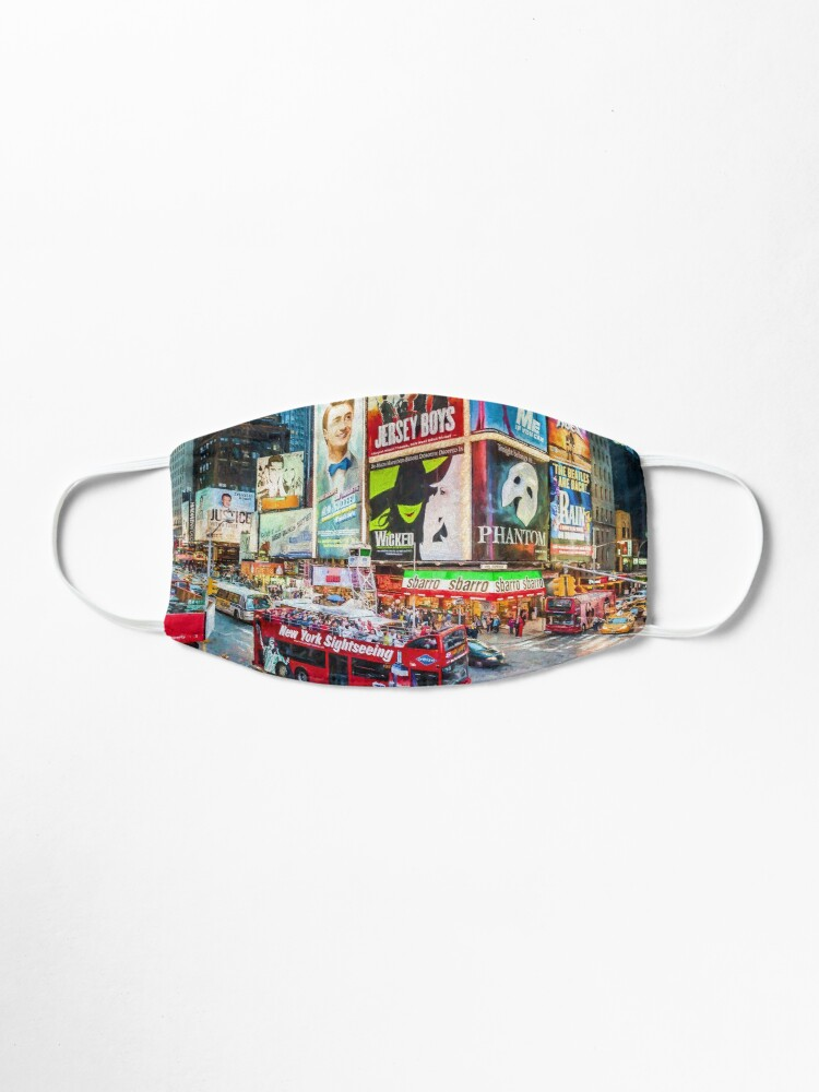 Alternate view of Times Square II (digitally repainted) Mask