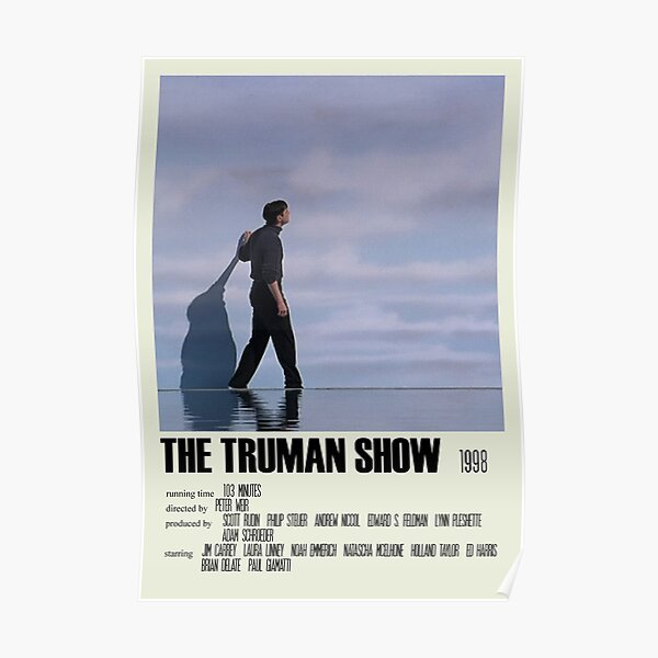 The Truman Show Alternative Poster Art Movie Large (4) Poster