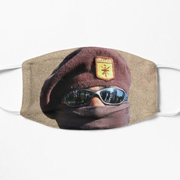 Brown Beret 2017 Flat Mask