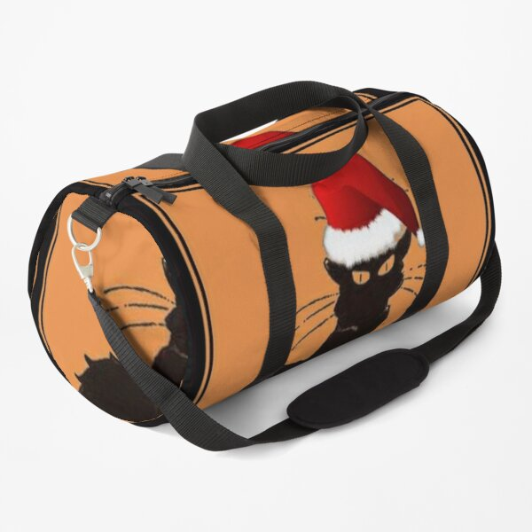 Le Chat Noel Duffle Bag