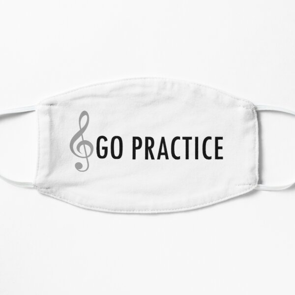 Go Practice Flat Mask