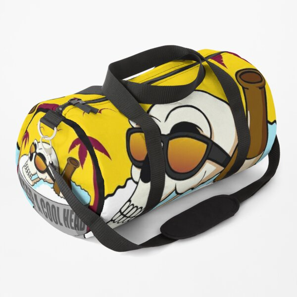 Skull 'Keep a Cool Head' Duffle Bag