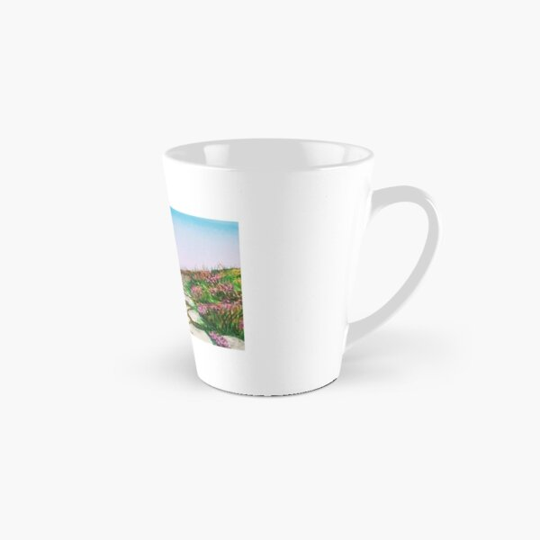 Mountainous landscape with watercolor Tall Mug