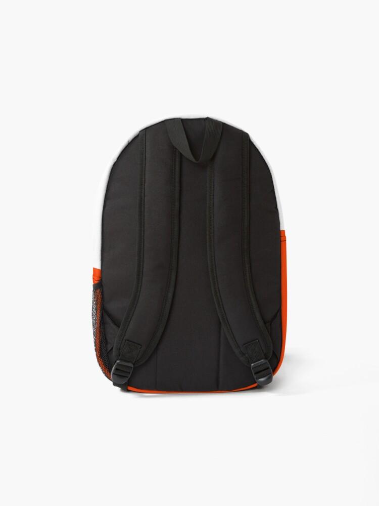 Alternate view of Bright Fluorescent Attack Orange Neon Backpack