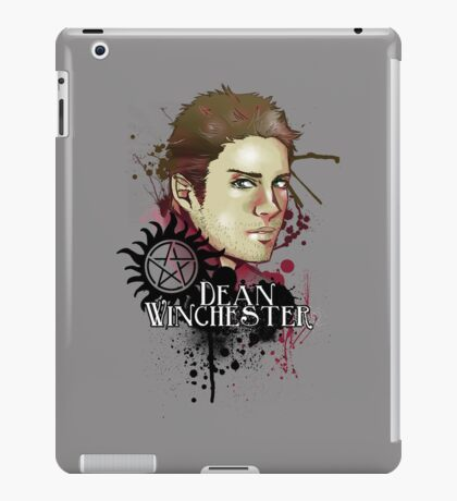 Dean - comic iPad Case/Skin