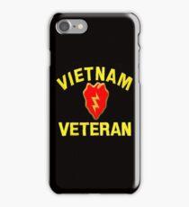 25th Infantry Div. Vietnam Veteran T-shirt iPhone Case/Skin