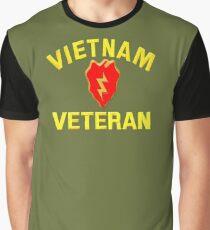 25th Infantry Div. Vietnam Veteran T-shirt Graphic T-Shirt