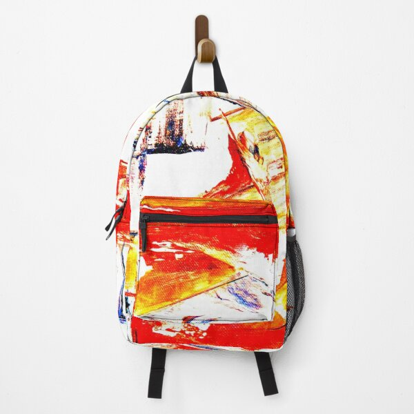 creative art abstracts painting Backpack
