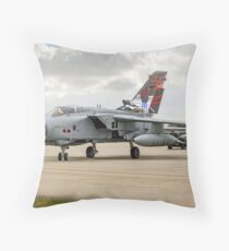 Dambusters Tornado GR.4 ZA412 taxies out Throw Pillow