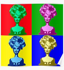 Doll Warhol Poster