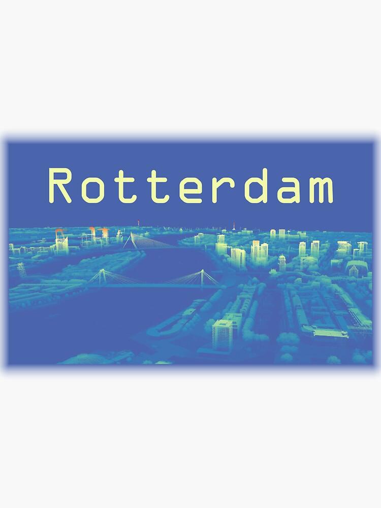 Rotterdam Skyline in Point Cloud by jvdkwast