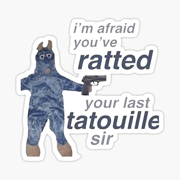 Ratatouille Sticker