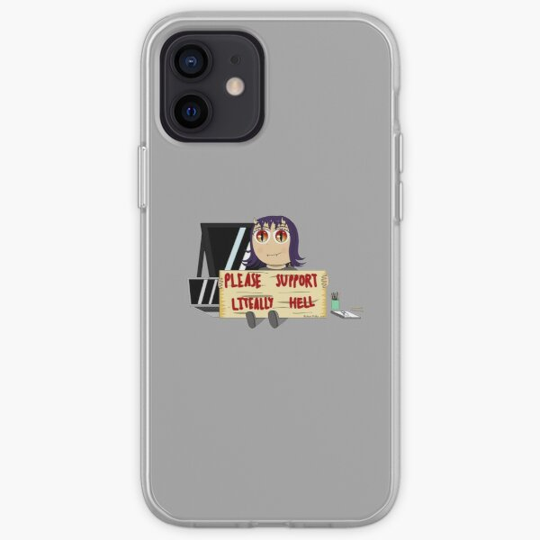 Support Literally Hell iPhone Soft Case