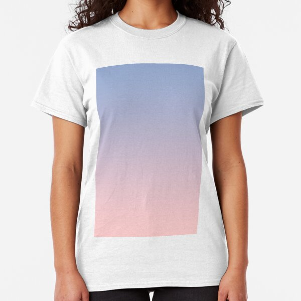 Pantone Color of the Year 2016  Rose Quartz -  Serenity - Ombre Classic T-Shirt