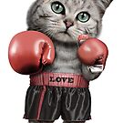 BOXING CAT by MEDIACORPSE