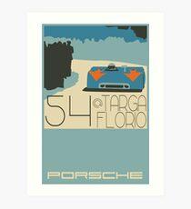 Targa Florio Art Print