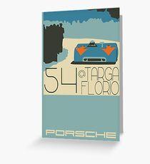 Targa Florio Greeting Card