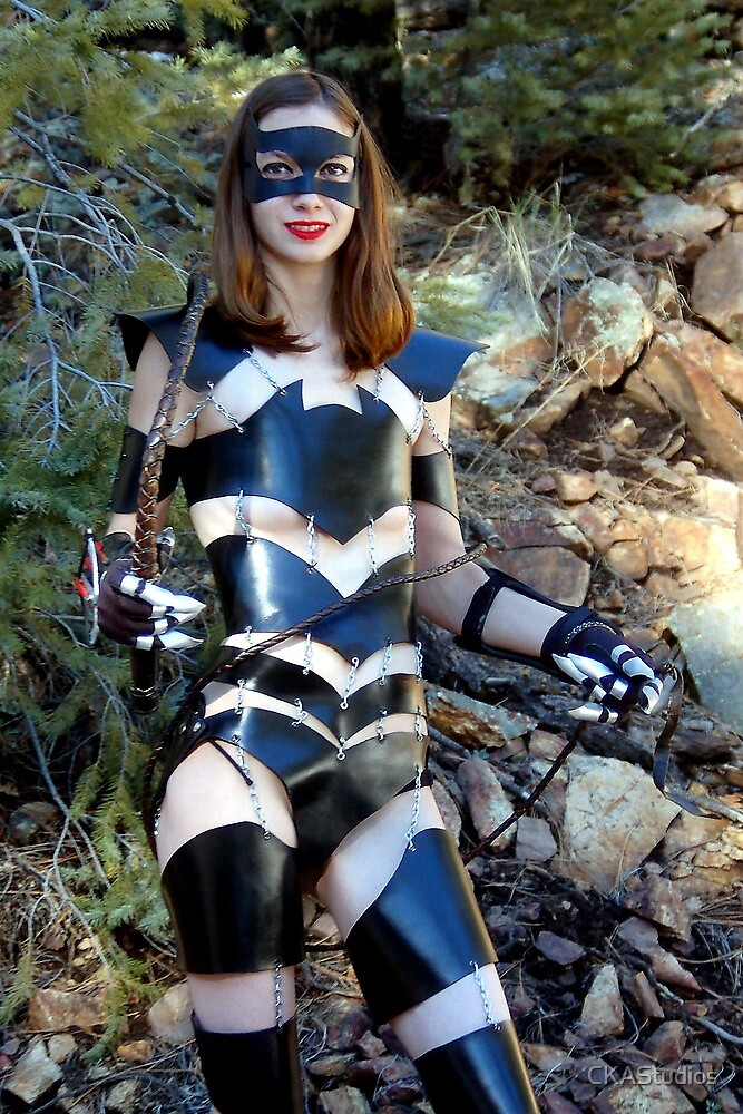 Medieval Catwoman by CKAStudios