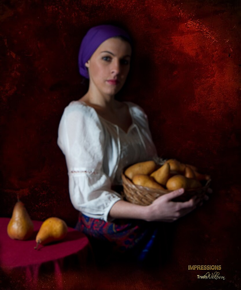 Pears - Old World Style by Trudy Wilkerson
