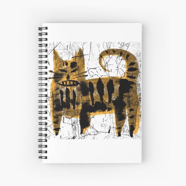 Alley Cat 2  Spiral Notebook