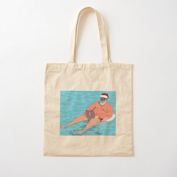 Christmas in July Cotton Tote Bag