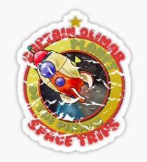 Pikmin Space Trips Sticker