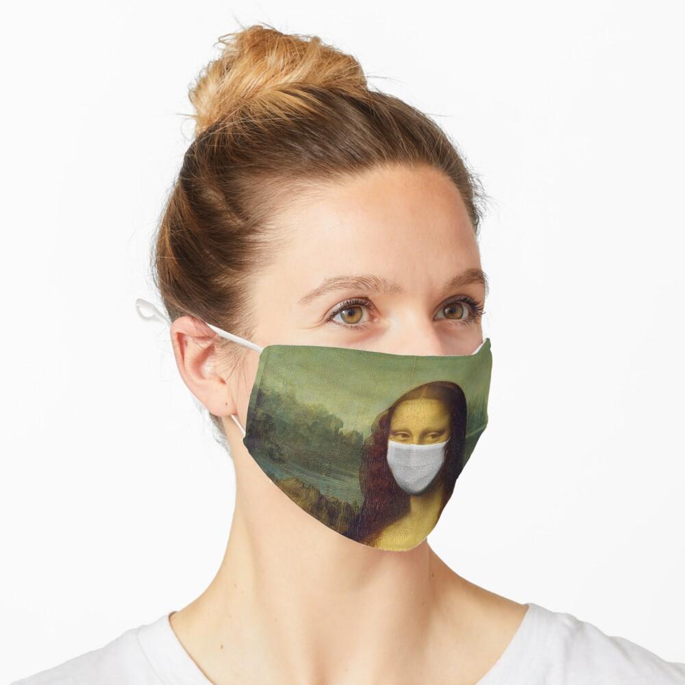 Mona Lisa Face Mask for Renaissance Art Lovers - Coronavirus Face Masks Mask