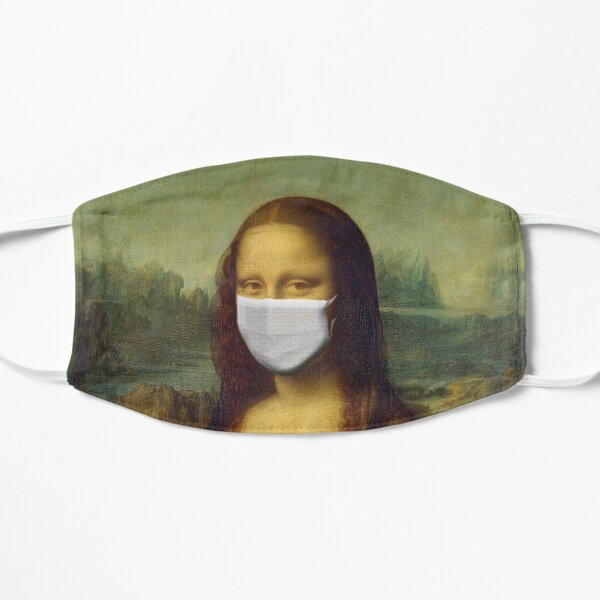 Mona Lisa Face Mask for Renaissance Art Lovers - Coronavirus Face Masks Mask