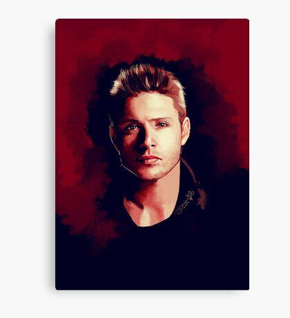 Dean Portrait Canvas Print