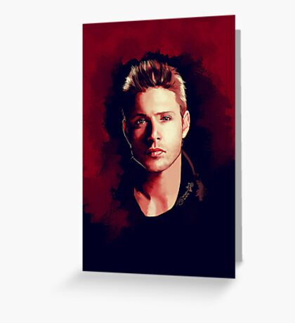 Dean Portrait Greeting Card