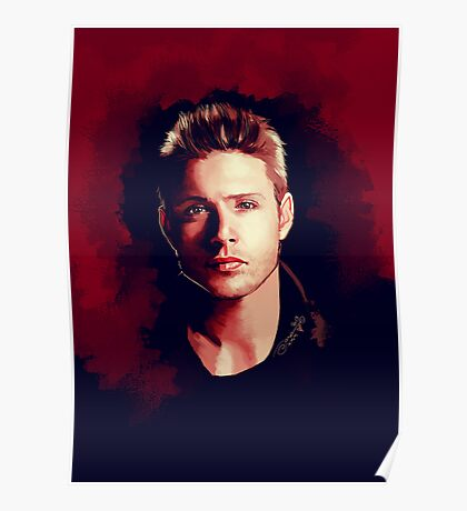 Dean Portrait Poster