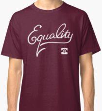 Equality - White Classic T-Shirt